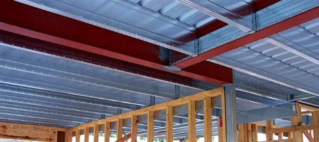 Smartslab and Structural Steel in Brick veneer